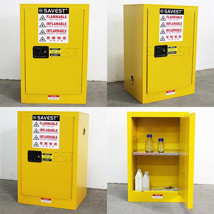 12加仑易燃液体防火防爆安全柜