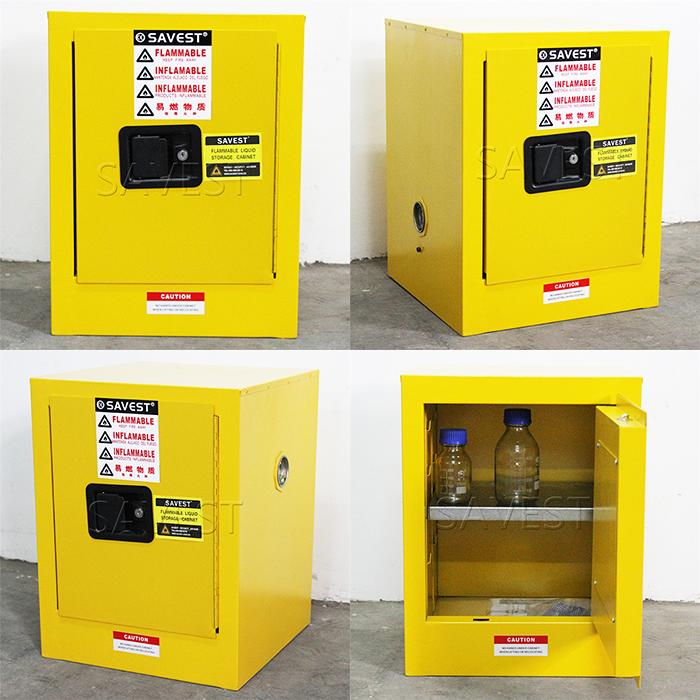 4加仑易燃液体防火防爆安全柜